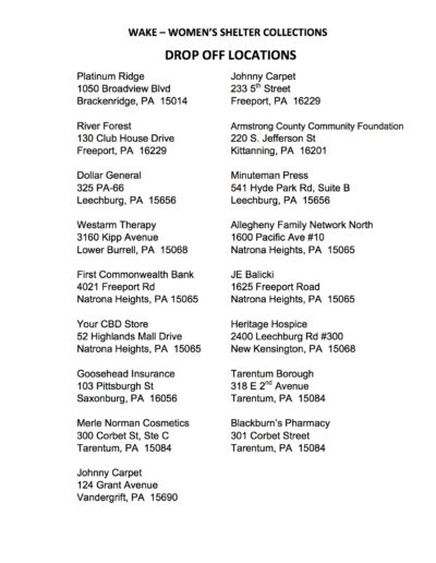WAKE WOMENS SHELTER COLLECTIONS DROP OFF LOCATIONS copy 2