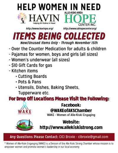 Wake - Womens Shelter Collection Flyer